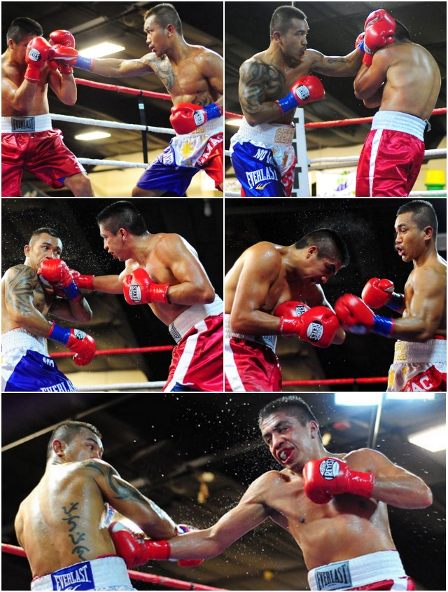 The fighters went nonstop from her on. Action photos provided by Paul Gallegos