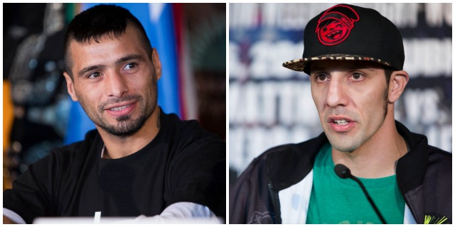 Lucas Matthysse facing tough guy John Molina.