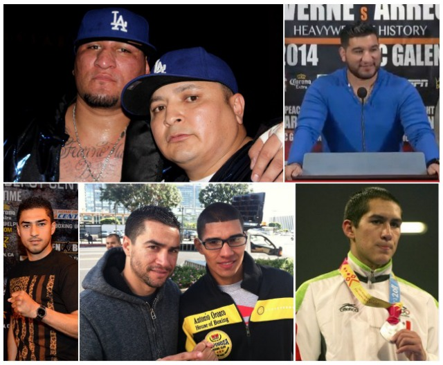 Just checking your boxing IQ. Can you name these six individuals?