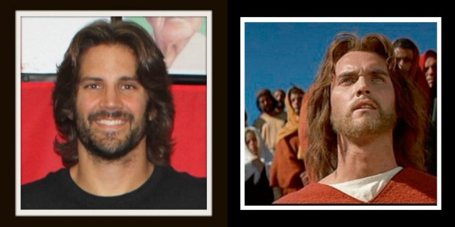 (l to r) J Jason Bukich a Jiu Jitsu instructor from The Arena MMA Gym in Point Loma who with his long hair and full beard bears a strong resemblance to the late actor Jeffrey Hunter who portrayed Jesus Christ in the movie King of Kings.