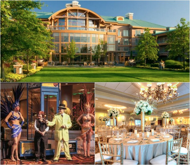 The Turning Stone Resort and Casino in Verona, N. Y. is quite the place - glamour plus.