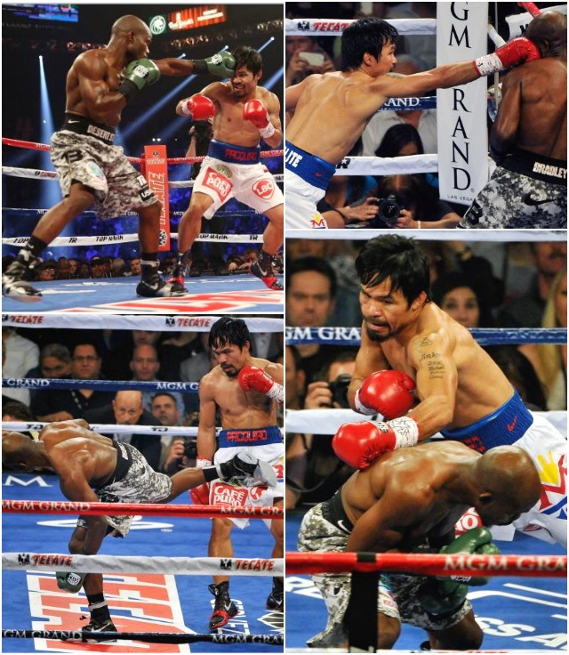 Manny Pac first 3 rounds