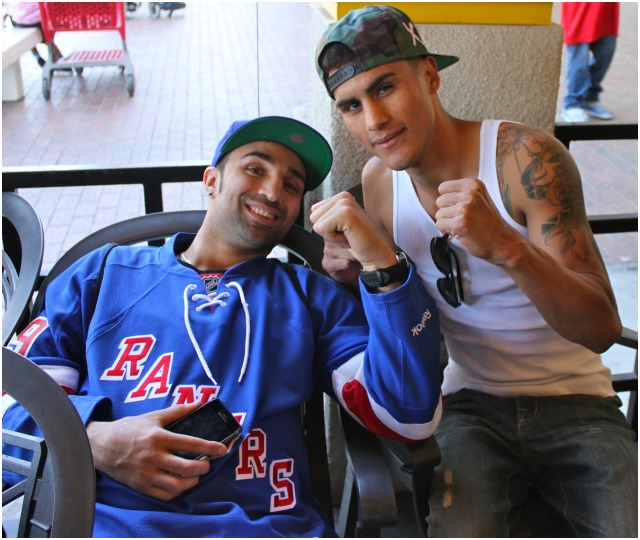 """In the world of sports it's always helpful to seek advice from the veteransand who better to learn from but Paul """"Paulie"""" Malignaggi who is visiting San Diego for the very first time. The 33 year-old Fox Sports West boxing commentator and veteran of 38 professional fights is from Brooklyn, New York. AKA """"The Magic Man"""" and well known for being Adrien Broner's best buddy, Paulie is a former IBF Welterweight and WBA IBF Lightweight Champion."""