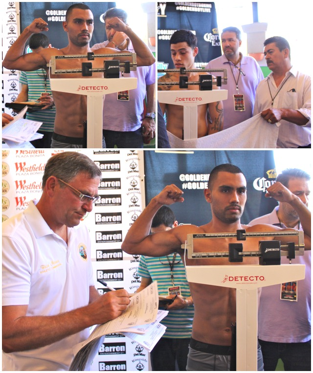 """The popular Roque """"Rocky"""" Ramos weighed in at the exact weight but his opponent (name withheld) paid no attention to the required weight and in the end, their bout had to be cancelled."""
