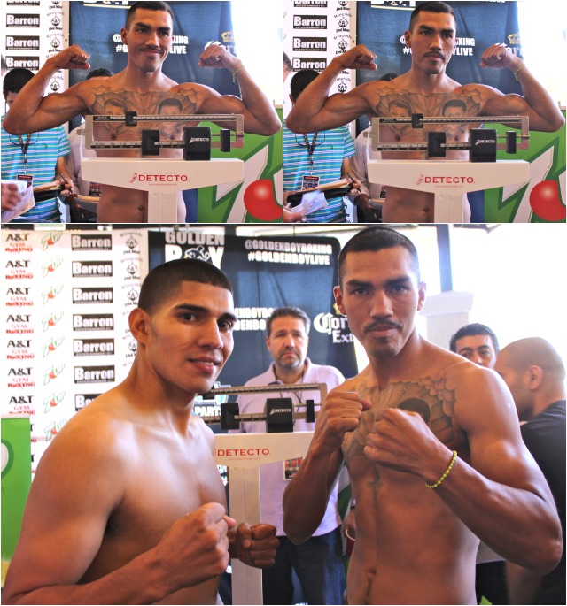 Antonio Orozco (l) will have to overcome Martin Honorio's stiff jab, his blazing speed and outstanding footwork