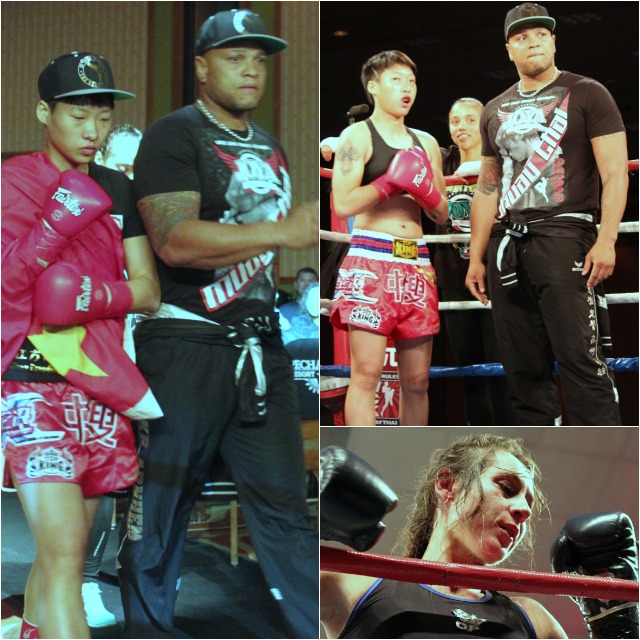 "Bout #3 was part of the WLF four Women Super Bantamweight Tournament. In this one, Wang ""Chaoqi"" Kehan of Zhengzhou, China by way of Mudanjiang, China dominated in her match against Lindsay Ball of Victoria, British Columbia, Canada."