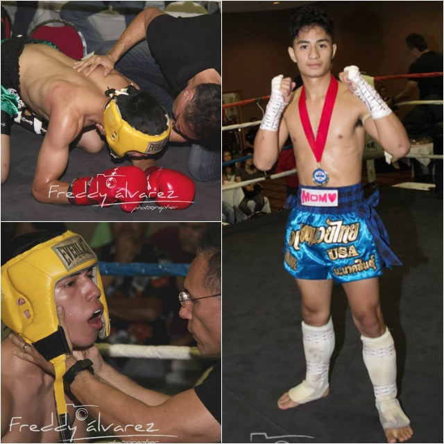 In Bout #1, it was Joe Cardenas with the second round TKO victory over Danny Martinez.
