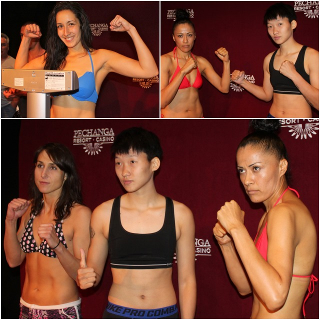 Bt 3 and 4 Wang Chaoqi, Linda Aguilar, Ciara Irvine and Linsay Ball