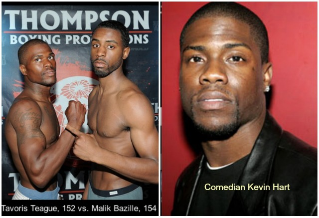 Since Kevin Hart is one of Malik Bazille's favorite actor/comedians it's going to be hard for him to pound his shorter into submission.