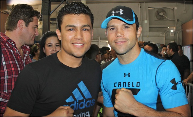 Highlights Canelo Alvarez Media Event At The House Of Boxing besides Canelo Alvarez Receives Wbc Middleweight Title Belt together with Richard Steele furthermore News together with Manny Pacquiao Simply Best Boxer. on oscar de la hoya training canelo
