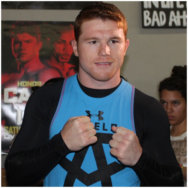 "The simpatico The simpatico Señor Saul ""Canelo"" Alvarez Photo: Jim Wyatt"