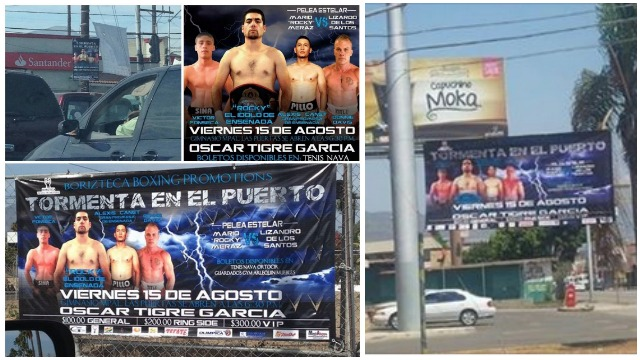 With posters, signs and billboards everywhere and the six to eight a day commercials to begin airing today, is there any doubt that the venue will be sold out on fight night, August 15.