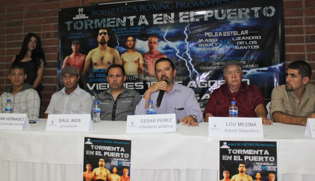 "(l to r) boxer Victor ""Sina"" Fonseca, president of the Ensenada"