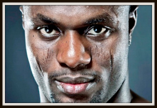 The noticeable scars on the face of Lateef Kayode speak volumes of his toughness.