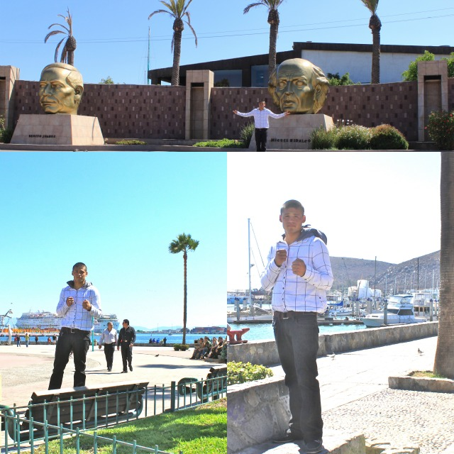 "Since Victor ""Sina"" Fonseca is from Tijuana, he wanted to stay longer in Ensenada and see all the tourist sites."