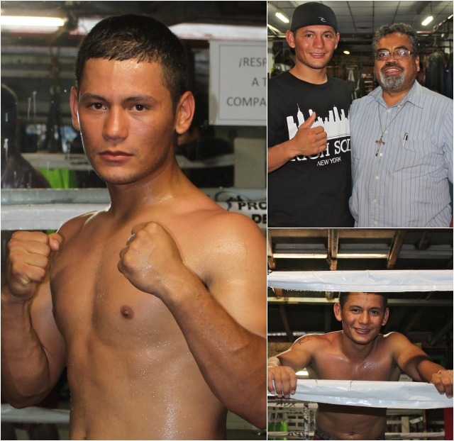 One of the very first fighters signed for this big event was the undefeated Oscar Alexis Canett of Ensenada. Photos: Jim Wyatt