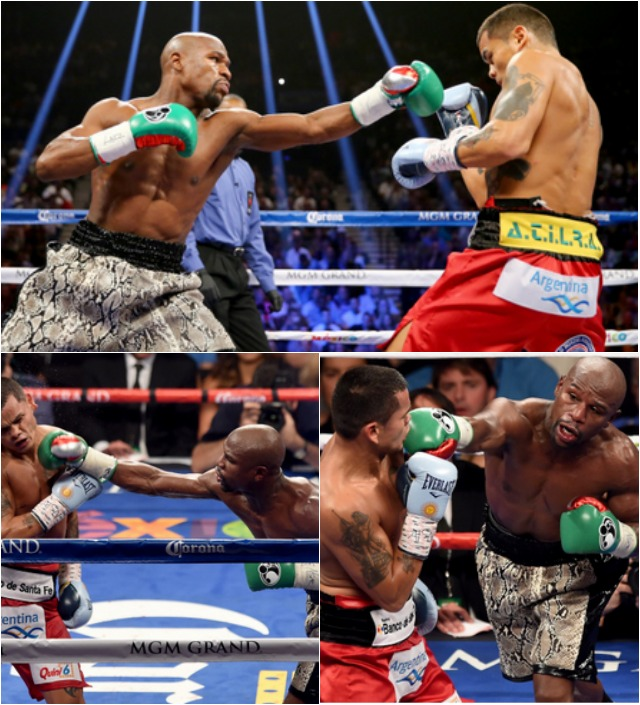 640 Mayweather takes lead