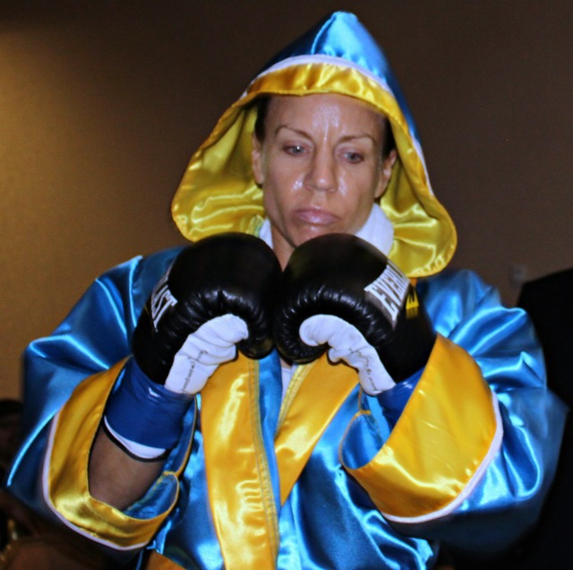 Jolene Blackshear makes her way to the ring to face Susan Reno.