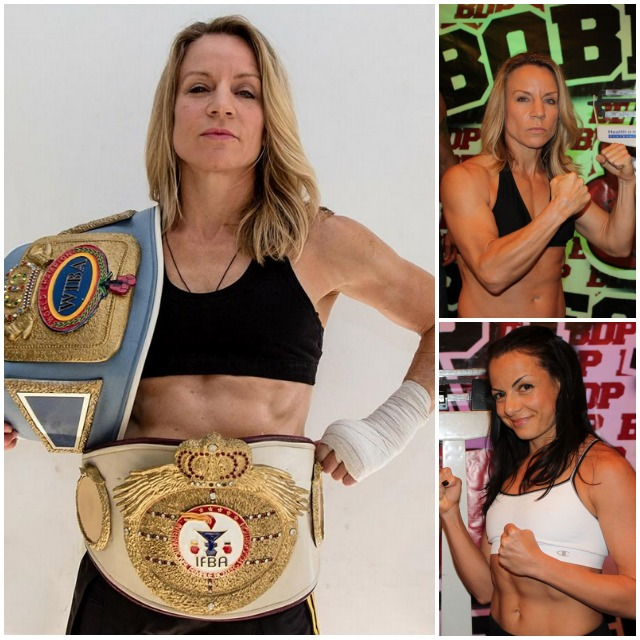 The challenge has been made. On Thursday night, in the Main Event of the evening, Susan Reno of New York, N. Y. will attempt to defeat always tough Jolene Blackshear. All photos: Jim Wyatt