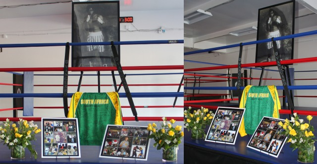 On Saturday, September 27, 2014, The Arena MMA Gym in Point Loma hosted a Celebration of Life for the recently deceased Lucky-Phineas Nhlengethwa, their beloved boxing coach. Photo: Jim Wyatt