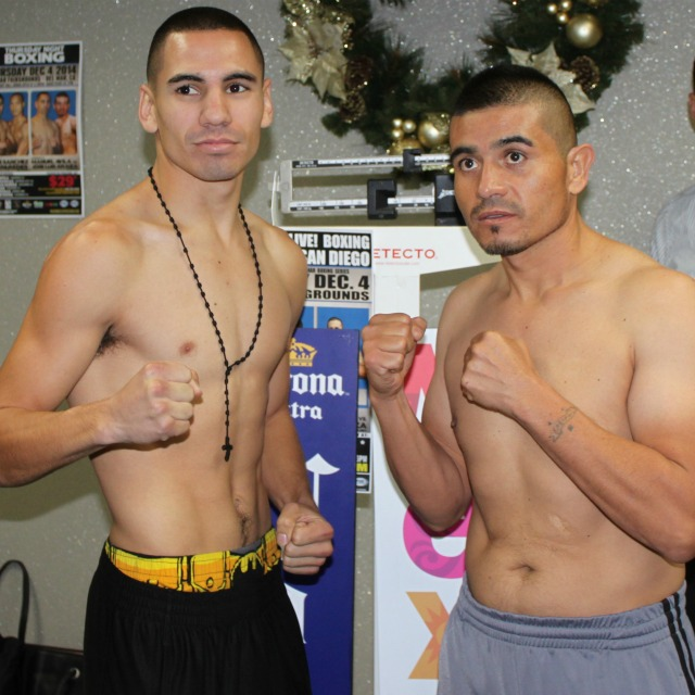 "In the co-feature it was going to be Manuel ""Tino"" Avila (16-0, 7 KOs) in a junior featherweight match with Jose Luis ""Tapitas"" Araiza (34-9-1, 25 KOs) but upon a further medical examination, the fight had to be scrapped due to Araiza failing his physical. The matchmaker, Jorge Marron, is currently looking for a replacement to fight Avila. Photo: Jim Wyatt"
