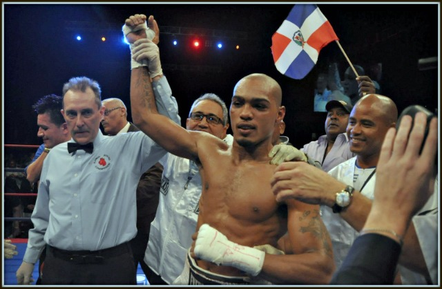 "Thursday's opponent, the very tough Ed ""The Lion"" Paredes."