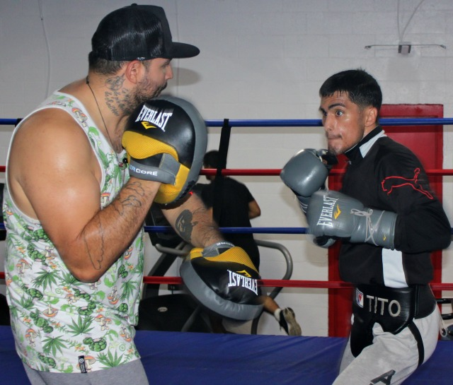 "After losing to in his last fight, Jorge ""Tito"" Ruiz switched trainers and is now working with Jose Cital, Jolene Blackshear's coach. The benefits can be multifaced since Cital ggot married to the Nutrition expert Brandy Augustine.  Photo: Jim Wyatt"