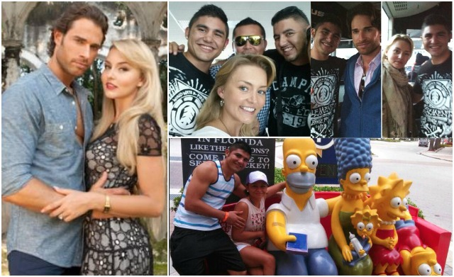 It's coming up on six months since he last fought and they say we are judged by the company we keep. Recently, Elias Espadas and his crew were spotted with Angelique Boyer and Sebastián Rulli at the airport. The well known actors played the characters Montserrat and Alejandro in the popular primetime novela Lo Que La Vida Me Robo.