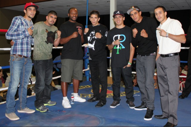 The top boxers will miss Mr. Burni - from Antonio DeMarco (l) to Chris Martin (r), from James Parison to Alan Sanchez and the Bojorquez brothers, Emilio and Christian.