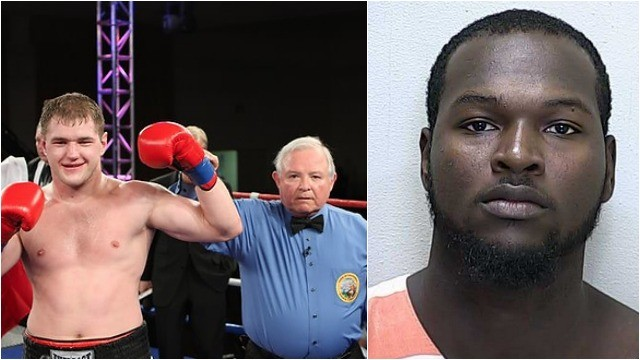 "It Bout #3 of the heavyweights you have Andrey Fedosov (l) of Hollywood, CA by way of Shuya, Russia going up against ""Nat"" Heaven (r) of Ocala, Florida."