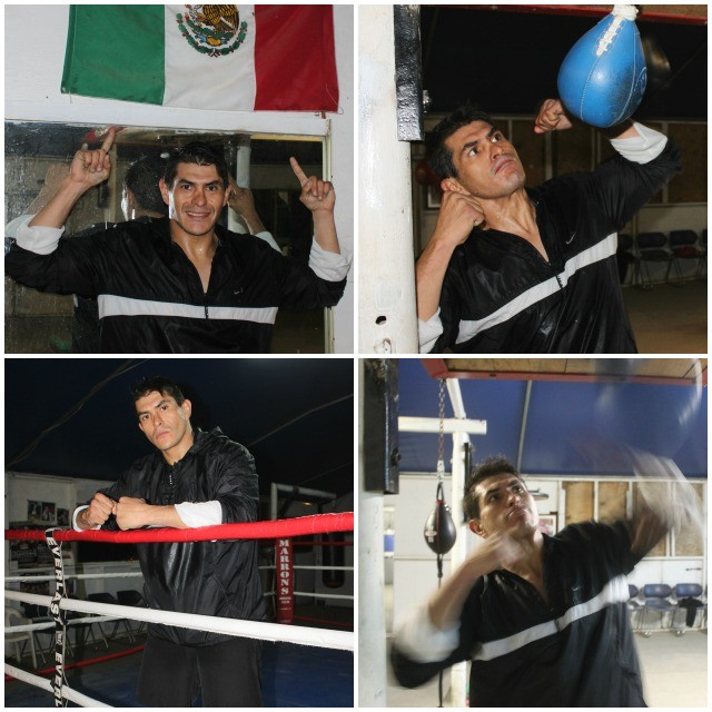 Ernesto Berrospe of Guadalajara, Jalisco, Mexico takes time away from his training for a few photos.