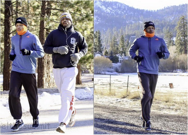 "Paul Mendez: ""Nothing but serious training. What do you do for fun on a Sunday afternoon in Big Bear? You go for a run because there isn't anything else to do."""