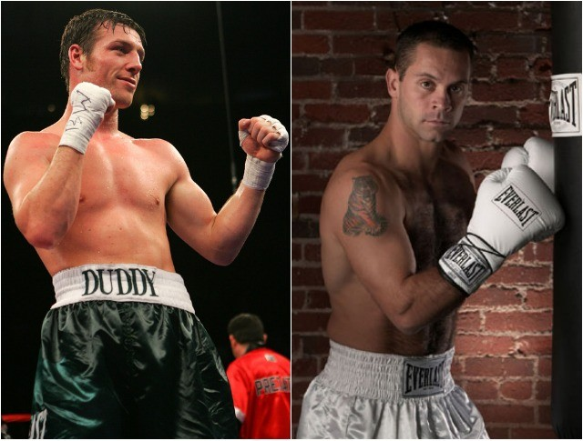 "In 2007, it was John Duddy battling Anthony ""The Bullet"" Bonsante for the IBA Super Middleweight Title."