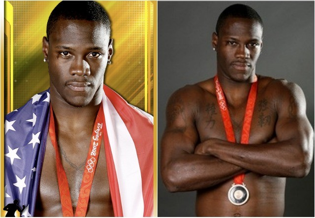 640Collage of younger DeontayWilder