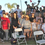 """On Saturday, everyone who is anyone, was at the Marron Ranch in Lakeside, CA to see the latest USA Amateur Boxing Show """"Showdown at the Ranch"""" featuring 12 bouts with 24 boxers and"""