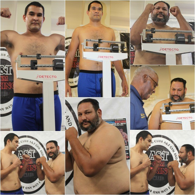 "Expect the unexpected! The heavyweight bout between 40 year-old Michael Robinson of the Encinitas Boxing Club and the very tall Rafael ""El Grande"" Rios also from San Diego, might surprise you."