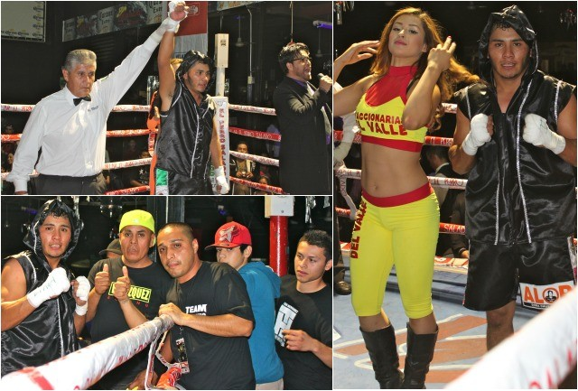 After stopping Adrian Diaz in the third round, it was determined that Adrian Diaz could not Alex Hernandez