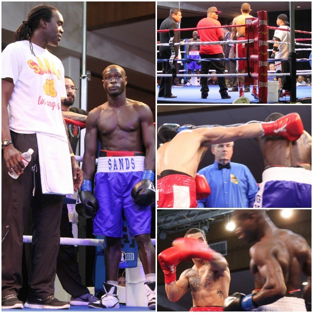 "(l) Super welterweight Isaac ""Puma"" Freeman from Crenshaw and Jeff Tabrizi"