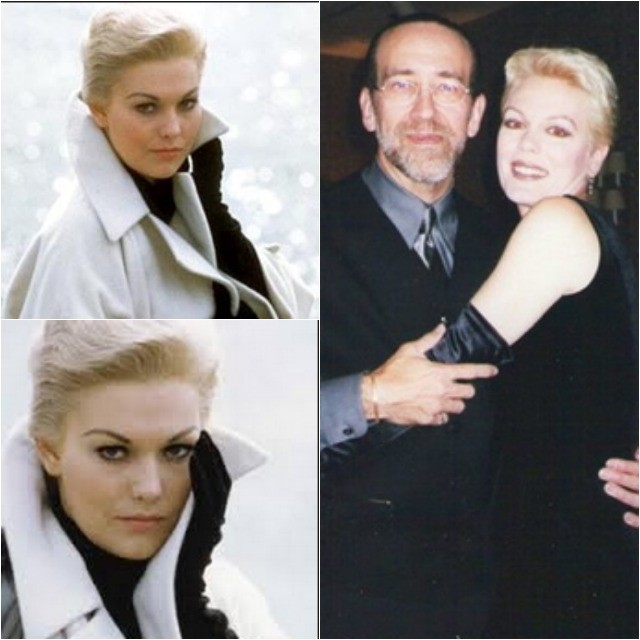 hotos on the left are of the famous actress Kim Novak. The photo on the right is of Kathy (Wyatt) Capelli being held in the arms of the famed hair stylist Stephen Capelli Jr.