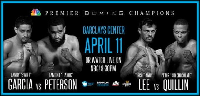 There are many exciting fights on the docket this weekend, among them this showdown between Lamont Peterson of Memphis, Tenn. and Danny Garcia of Philadelphia, Penna.
