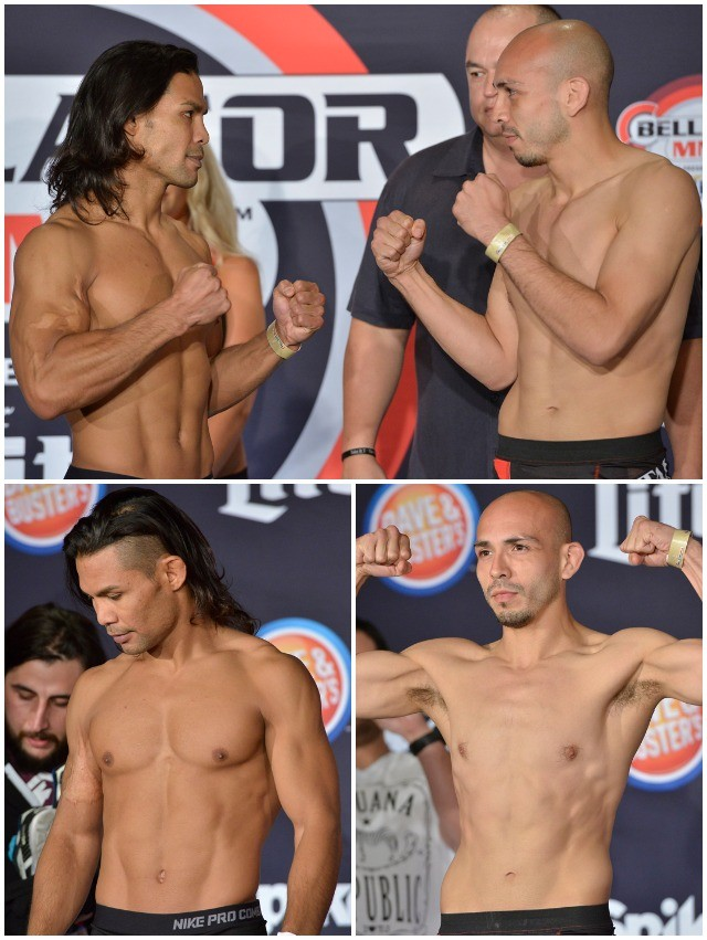 Bantamweight Fight: Joe Taimanglo (136.2 lbs.) vs. Antonio Duarte (135.1 lbs.)