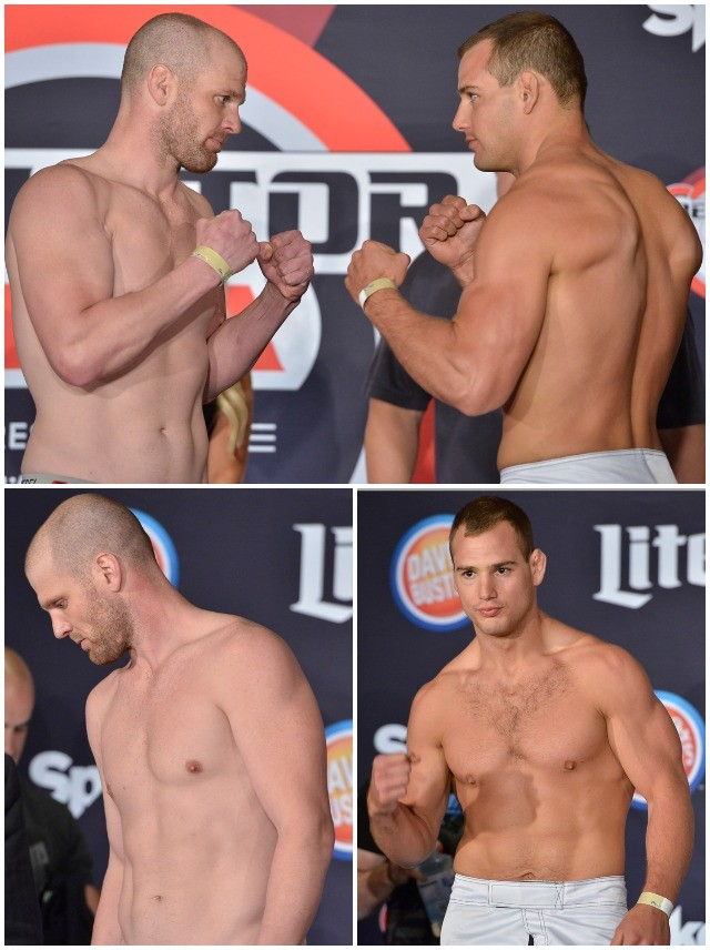 Middleweight Fight: Benji Radach (186 lbs.) vs. Ben Reiter (186 lbs.)