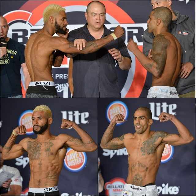 Bantamweight Fight: Darrion Caldwell (135.7 lbs.) vs. Rafael Silva (135.7 lbs.)