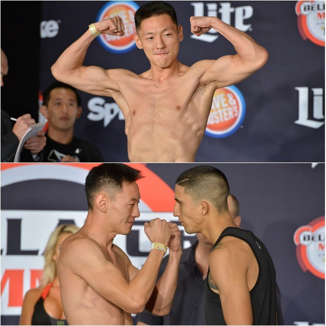 Bantamweight Fight: John Yoo (135.4 lbs.) vs. Albert Morales (134.4 lbs.)