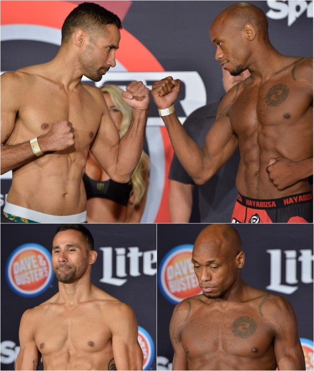 Jesse Juarez (171 lbs.) vs. Ricky Rainey (170.7 lbs.)