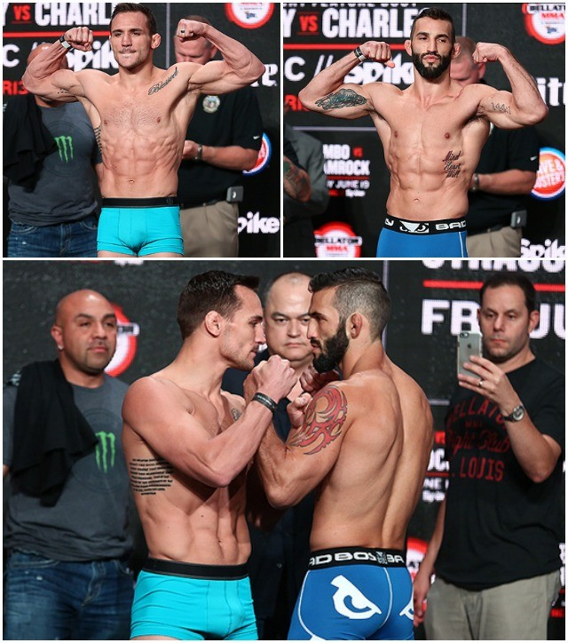 Michael Chandler (155.6) vs. Derek Campos (152.5)