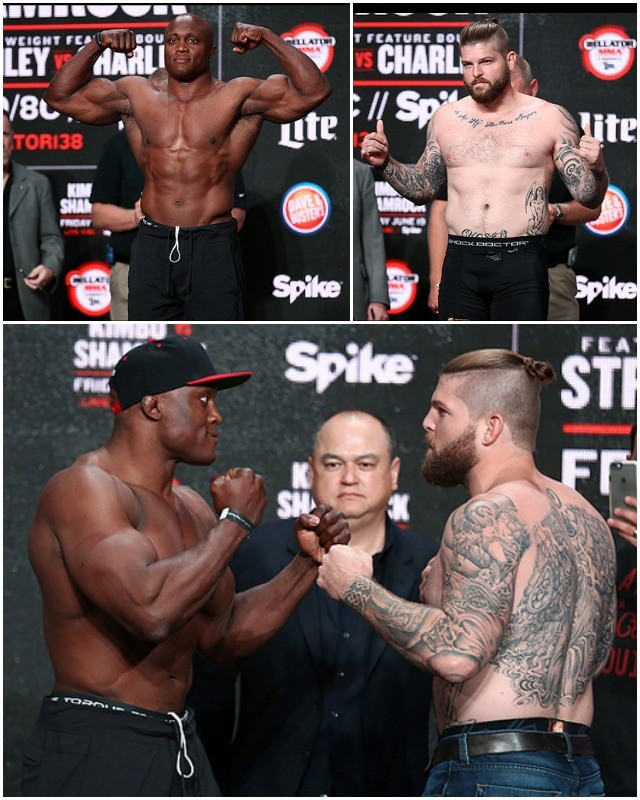 Bellator Featured Heavyweight Fight: Bobby Lashley (239) vs. Dan Charles (228)