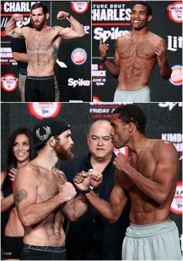 Lightweight Fight: Eric Irvin (155.2) vs. Hugh Pulley (155.6)