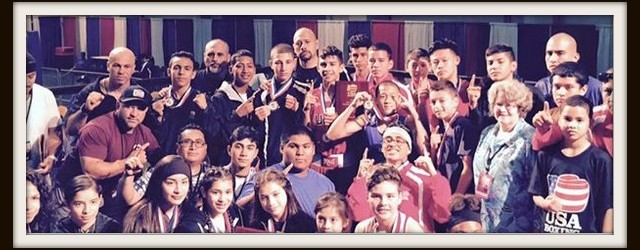 California's Amateur Boxers rule at this year's USA Amateur Boxing's Junior Olympics Tournament.