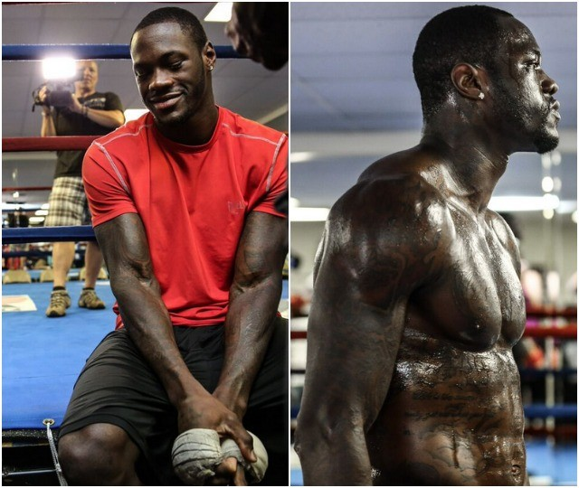 The irrepressable Mr. Deontay Wilder.